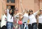 صور.. جولة سياحية لعائلة رونالدو بالقاهرة وبدايتها «المتحف المصري»