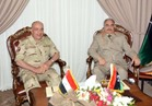 الفريق «حجازي» يصل ليبيا ويلتقي المشير «حفتر» وشيوخ القبائل العربية بالمنطقة الشرقية بليبيا