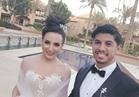 ننشر الصور الأولى من حفل زفاف ساندي و المخرج حازم كتانة