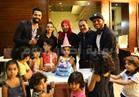 صور| شاهين وكارمن سليمان يحتفلان بعيد ميلاد حفيدة «شكوكو»