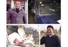 الصور الأولى للهجوم الإرهابي على كمين أمني بمدينة تنصر