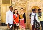 """""""شباب إفريقيا"""" يطلقون رسالة طمأنة وسلام للعالم من سانت كاترين بجنوب سيناء"""