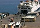وصول ومغادرة 2778 راكبا وتبادل 123 شاحنة بضائع بموانئ البحر الأحمر