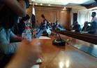 وزير التعليم العالي يفتتح المركز الإعلامي بحضور 4 رؤساء جامعات
