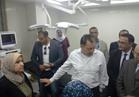 وزير الصحة يتفقد مستشفى طوارئ كفر سعد المركزي تمهيداً لافتتاحها