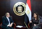 سحر نصر تبحث مع سفير الأردن ترتيبات اجتماعات اللجنة العليا المصرية الأردنية