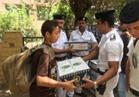 """""""أمن القاهرة"""" توزع 3000 كرتونة من السلع الغذائية على المواطنين والأيتام"""