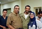 صور| عمرو سعد يشارك في إفطار «معهد القلب»