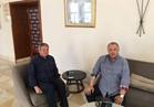 خالد عبد العزيز في معسكر المنتخب قبل مواجهة تونس
