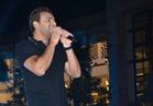 صور| رامي صبري يشعل أجواء «مول مصر»