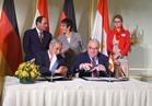السيسى :نتطلع لدعم ألمانيا لجهود التنمية في مصر
