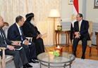 السيسي لأسقف الكنيسة القبطية بألمانيا: الإرهاب لن ينجح في ضرب الوحدة الوطنية بمصر