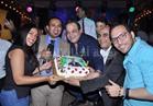 صور| الحريري وعبدالستار يحتفلون بعيد ميلاد «الليثي» في «ليالى الحلمية»