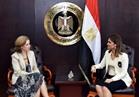 سحر نصر تبحث مع سفيرة بلجيكا زيادة استثمارات بلادها في مصر