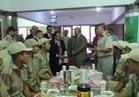 محافظ البحيرة ومدير الأمن والقيادات التنفيذية والأمنية يشاركون الجنود والضباط إفطار رمضان