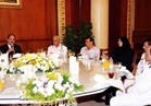 وزير الداخلية يلتقي بأسر الشهداء على مائدة إفطار رمضان