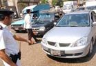 """تحرير 5993 مخالفة مرورية وحجز 10 سيارات و""""توك توك"""" بالجيزة"""