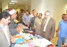 """محافظ المنيا يفتتح معرض """"بيت العائلة """"الخيري لملابس العيد بالمجان"""