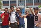 فرحة طلاب سيناء بعد امتحاني الإحصاء والتربية الوطنية