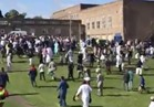 شاهد..إصابة 6 أشخاص في حادث دهس استهدف مصلين للعيد بنيوكاسل ببريطانيا
