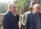 وزير الزراعة يتفقد حدائق الحيوان والأورمان والأسماك