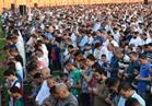 أهالي المنيا يؤدون صلاة العيد في ٣٥ ساحة.. والمحافظ بـ»الثانوية العسكرية«