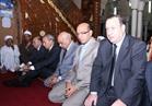 محافظ قنا يؤدى صلاة العيد بمسجد سيدي عبد الرحيم القنائي