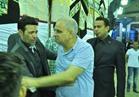 بالفيديو..السبكي والليثي وشعبان عبد الرحيم في عزاء والدة سعد الصغير