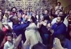 بالفيديو  وصلة رقص لمحمد رمضان مع فرقة حسب الله احتفالًا بخطوبة شيماء سيف