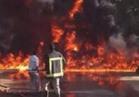 مقتل وإصابة 14 شخصا في حريق داخل مبنى سكني بجنوب إفريقيا