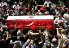 جنازة عسكرية لشهيد القوات المسلحة في الغربية