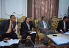 وفد الهيئة العامة للاستثمار يبحث فرص المشروعات المتاحة بالمنيا