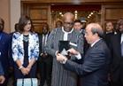 """""""الإنتاج الحربي """" يستقبل """"رئيس بوركينا فاسو """" بمصنع 200 الحربي"""