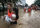 ارتفاع حصيلة ضحايا الفيضانات وسط الصين لـ83 شخصا بين قتيل ومفقود