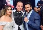 صور| زفاف إسطوري لـ«محمد ودينا» برعاية تامر حسني وحماقي وبوسي