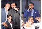 صور| أحمد سعد والليثي يشعلان زفاف «أحمد ومنة» بحضور الفنانين