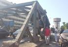 إصابة 6 أشخاص في تصادم أتوبيس بالسور الحديدي أمام المطابع الأميرية