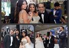 صور  حماقي وتامر حسني وهيفاء وهبي يزينون زفاف «طارق وميرنا»