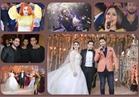 صور| حمادة هلال وبوسي وأوكسانا يشعلون زفاف «محمود وميرنا»
