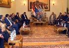 """الفريق """"حجازي"""" يلتقي عضو المجلس الأعلى الليبي لبحث تطورات الأوضاع"""