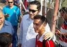 شاهد .. حفيد مبارك لاعب بالنادي الاهلي تحت 17 سنة