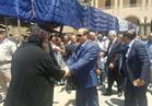 محافظ أسيوط والقيادات الأمنية يشاركون في الصلاة الجنائزية على الأنبا ساويريس