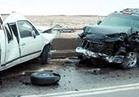 مصرع شخص وإصابة آخر في تصادم سيارتين أعلى محور 26 يوليو