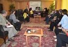 """رئيس """"قومي المرأة"""" تدشن مبادرة """"قرية منتجة"""" في الفيوم"""