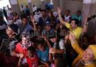 صور  جومانة مراد وداوود حسين وطارق عبد العزيز في زيارة خاصة للأطفال بوهران