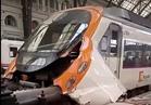 إصابة 48 في حادث قطار بإسبانيا ولا أنباء عن سقوط قتلى