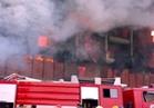 10 سيارات لإخماد حريق نشب بجراج في الوراق