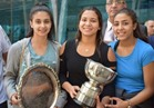 وزارة الرياضة تستقبل ناشئات الاسكواش الفائزات ببطولة العالم بنيوزيلندا