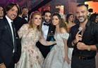 صور| جو أشقر يزين زفاف «حاتم وجمانة» بحضور مشاهير الفن والرياضة