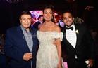 صور| سمير صبري ورجاء الجداوي في زفاف نجله مصممة الأزياء إيمانوش